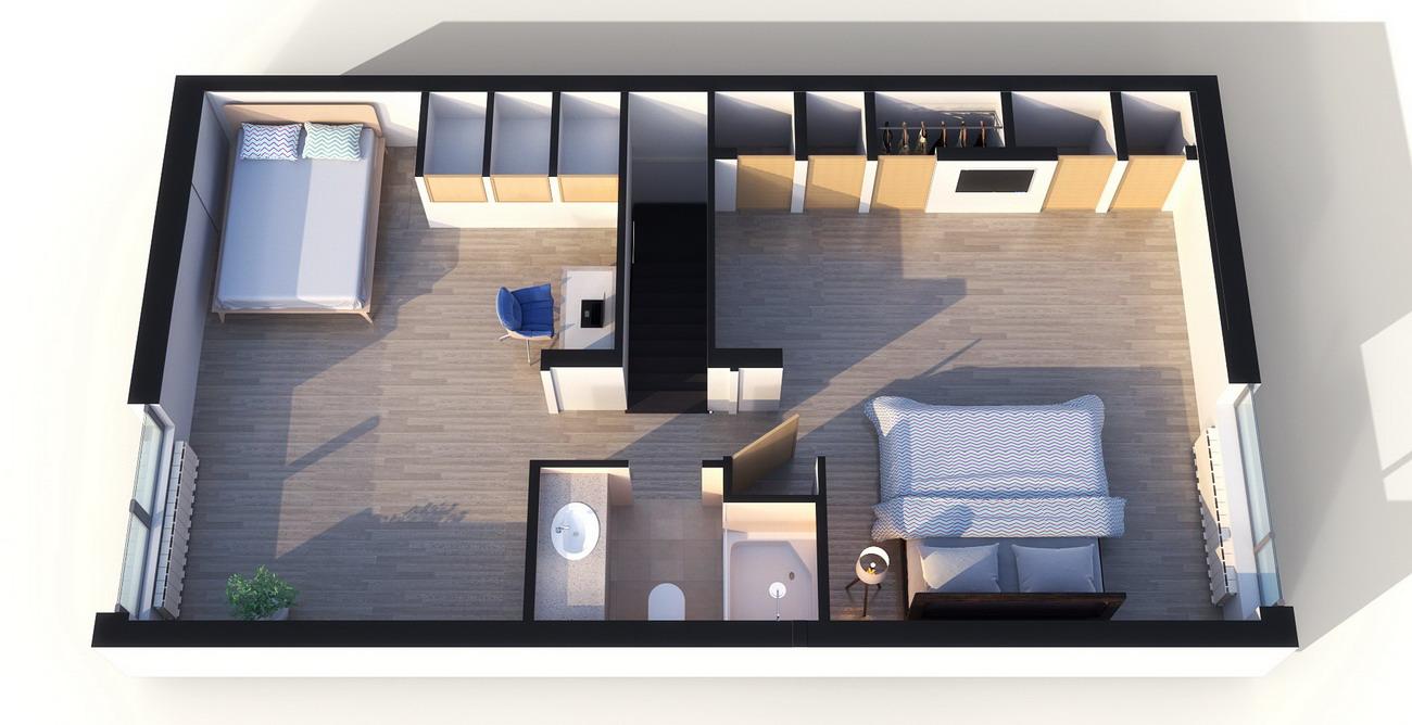 Дизайн дома 100 кв.м